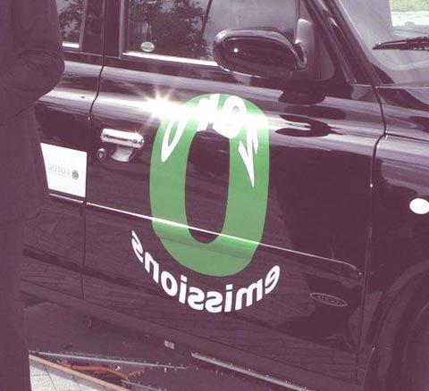 London taxi Hydrogen3