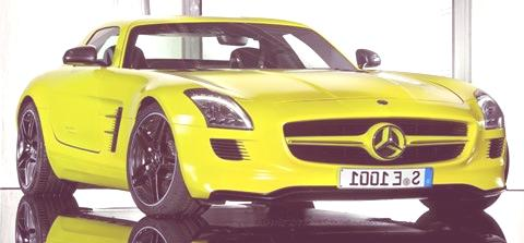 Mercedes-Benz SLS E-Cell chico3