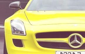 Mercedes Benz SLS E-Cell 2010, una versión eléctrica muy interesante