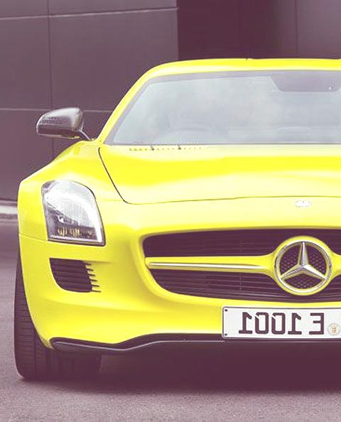 Mercedes-Benz SLS E-Cell chico4