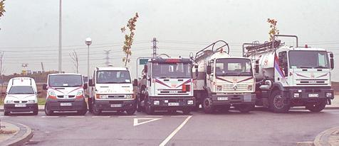 administracion flotas vehículos-