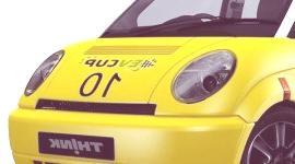 Think City EV Cup Edition, participante de una competición para coches eléctricos