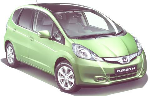 Honda Jazz Hybrid1