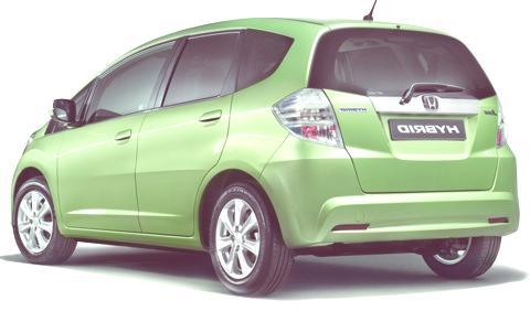Honda Jazz Hybrid2