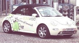 Volkswagen New Beetle Bio-Bug (a excrementos humanos)