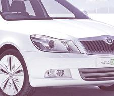 PARIS 2010, Skoda Octavia Green E Line Concept (video)