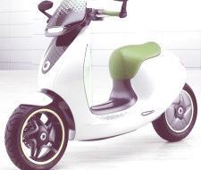 Smart E-scooter Concept 2011, para Parìs 2010