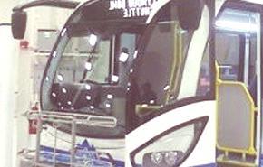 Primer autobús eléctrico en Los Àngeles (videos)