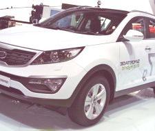 Kia Sportage diesel-híbrido Concept, presentado en París 2010