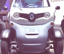 PARIS 2010, Renault Twizy EV 2011 (videos)