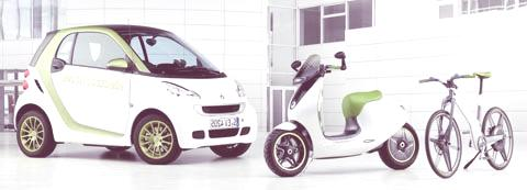 Smart electric bicycle concept-chico1