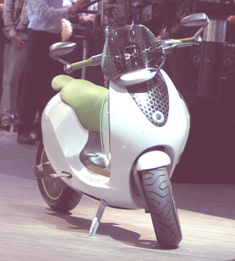 Smart e-scooter-chico