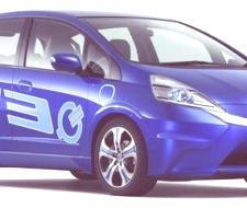 Honda Fit EV Concept, Los Ángeles 2010 (video)
