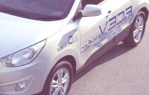 Hyundai Tucson Hydrogen Fuel-Cell EV, para 2015
