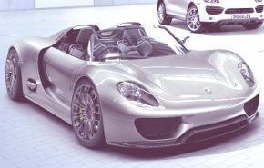 Porsche 918 Spyder Hybrid 2013 (a producción)