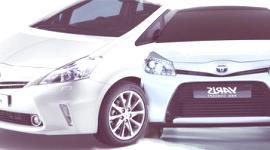 Toyota Prius+ y Yaris HSD Hybrid Concept (GINEBRA)