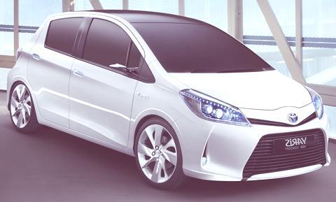 Toyota Yaris HSD Hybrid Concept-chico1