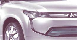 Mitsubishi Outlander Hybrid Plug-In 2013, primeras informaciones