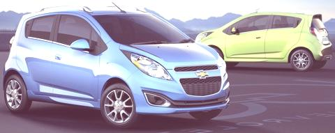 2013 new Chevrolet Spark mini-car