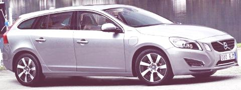 Volvo V60 Hybrid 2012-02