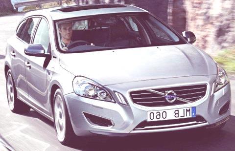 Volvo V60 Hybrid 2012-12