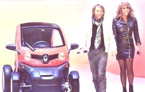 Renault Twizy 2012 y David Guetta