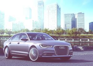 Audi A6 L e-tron concept-03