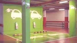 Punto de recarga para coches eléctricos en Madrid
