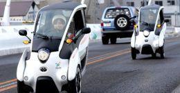 Toyota i-Road ya en la calle ( pero solo en Japón)