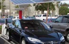 Carga gratuita para coches eléctricos.